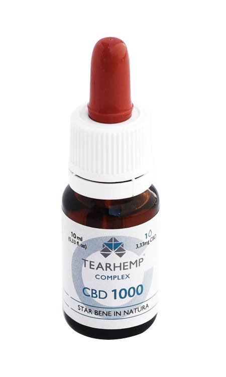 Olio con CBD 10% Tearhemp Complex Ecohemp