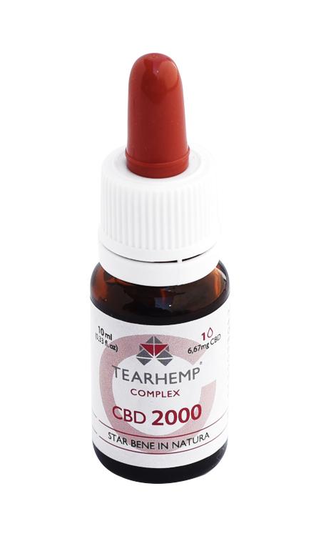 Olio con CBD 20% Tearhemp Complex Ecohemp