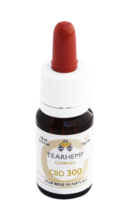 Olio con CBD 3% Tearhemp Complex Ecohemp