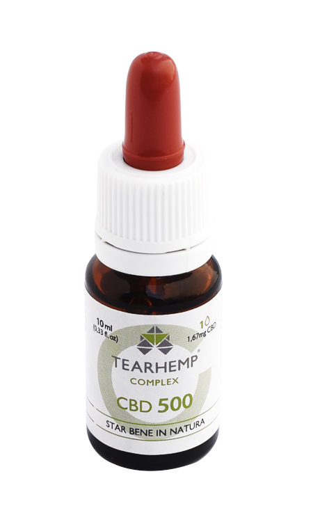 Olio con CBD 5% Tearhemp Complex Ecohemp