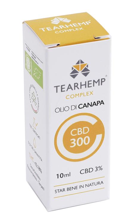 Olio di Canapa con CBD 300 3% Tearhemp Complex Ecohemp