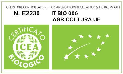 Certificato ICEA Ecohemp